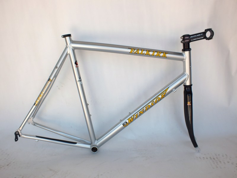 Parts Windsor Falkirk Frame Set With Carbon Fork And Ritchey Stem Image