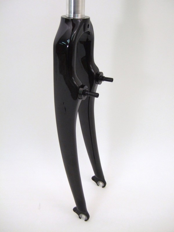 Parts 700c Carbon Cross Fork For Cantilever Brakes 1 1/8 Threadless Image