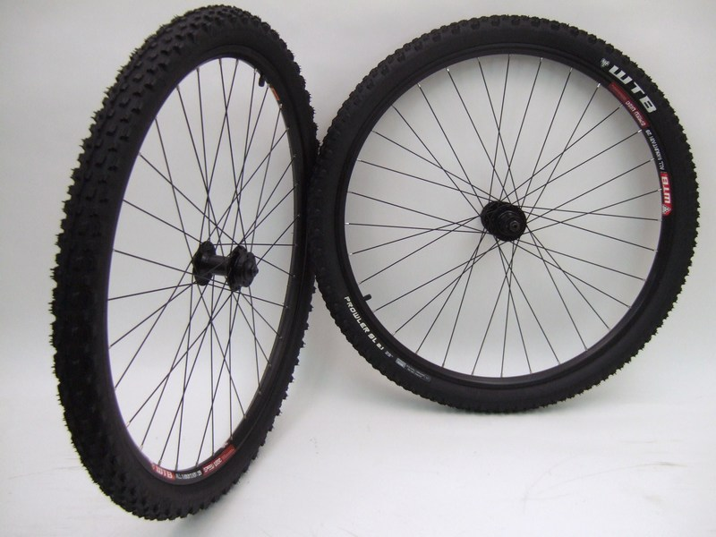 Parts 29 inch WTB Rims / Tires with Disc Brake Hubs Image