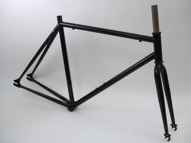 parts dawes mta single speed track frame fork unbranded image