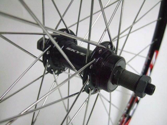 New 26 Atb Bicycle Bike Wheels Thread On Rear Hub Ebay