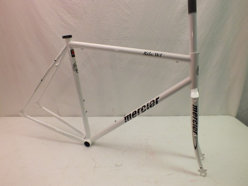 Parts Mercier Kilo WT Frame and Fork Reynolds 520 Steel Track Bike for Wider Tires Image