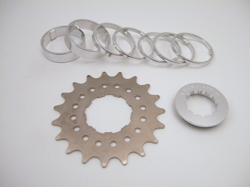 Parts Single Speed Spacer Kit Image