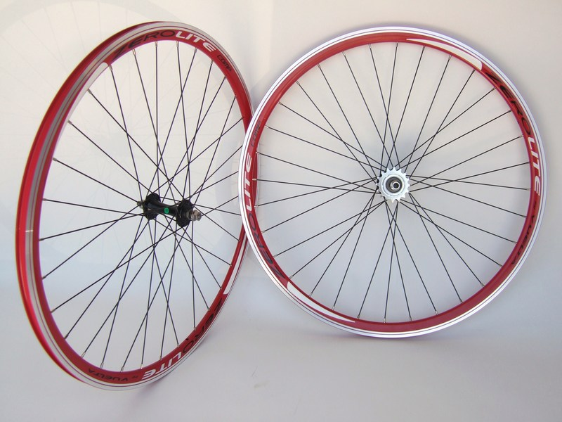 Wheels Zerolite Track Comp - RED Image
