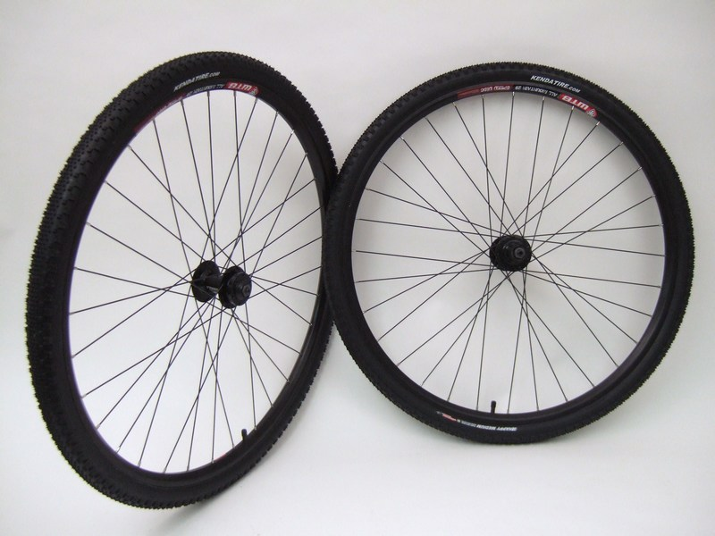 Parts 29er WTB Speed Disc Rims with Kenda Tires Image