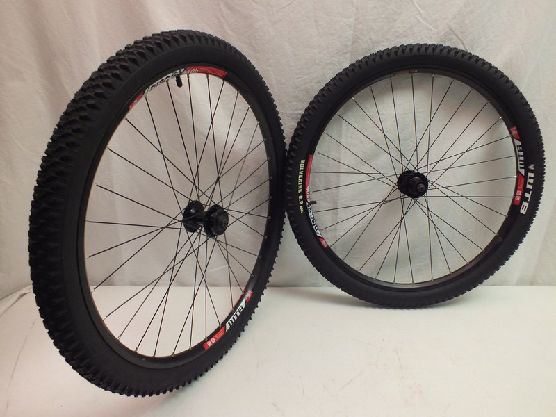 Wheels 650b / 27.5in.WTB Speed disc i23 wheel set with WTB tires Image