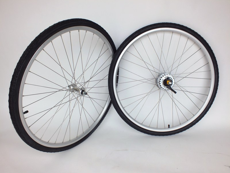 Wheels Nexus 8 Speed Internal Wheel set with Shifter, Tires and Tubes! Image