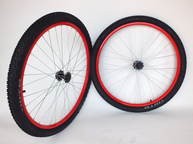 new colored mountain bike wheels 29er 29 disc with tires