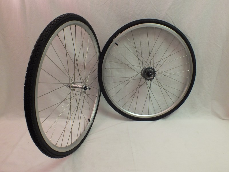 Wheels 700c double wall with Nexus 3 Speed Internal Wheel Set with Shifter Image