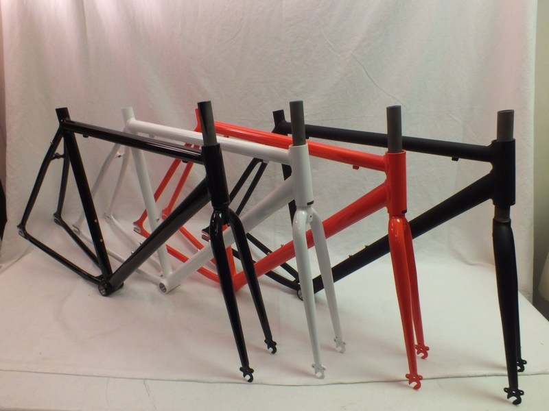 Parts Aluminum Unbranded Motobecane Fixie Record Frame and fork Image