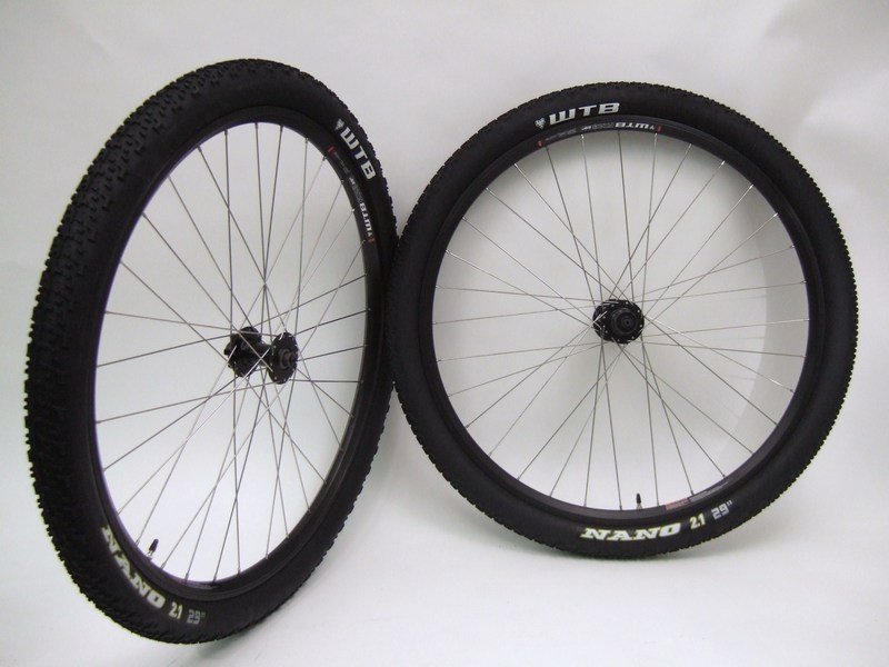 Parts 29 inch WTB Speed Disc Single Speed Wheels with Tires Image