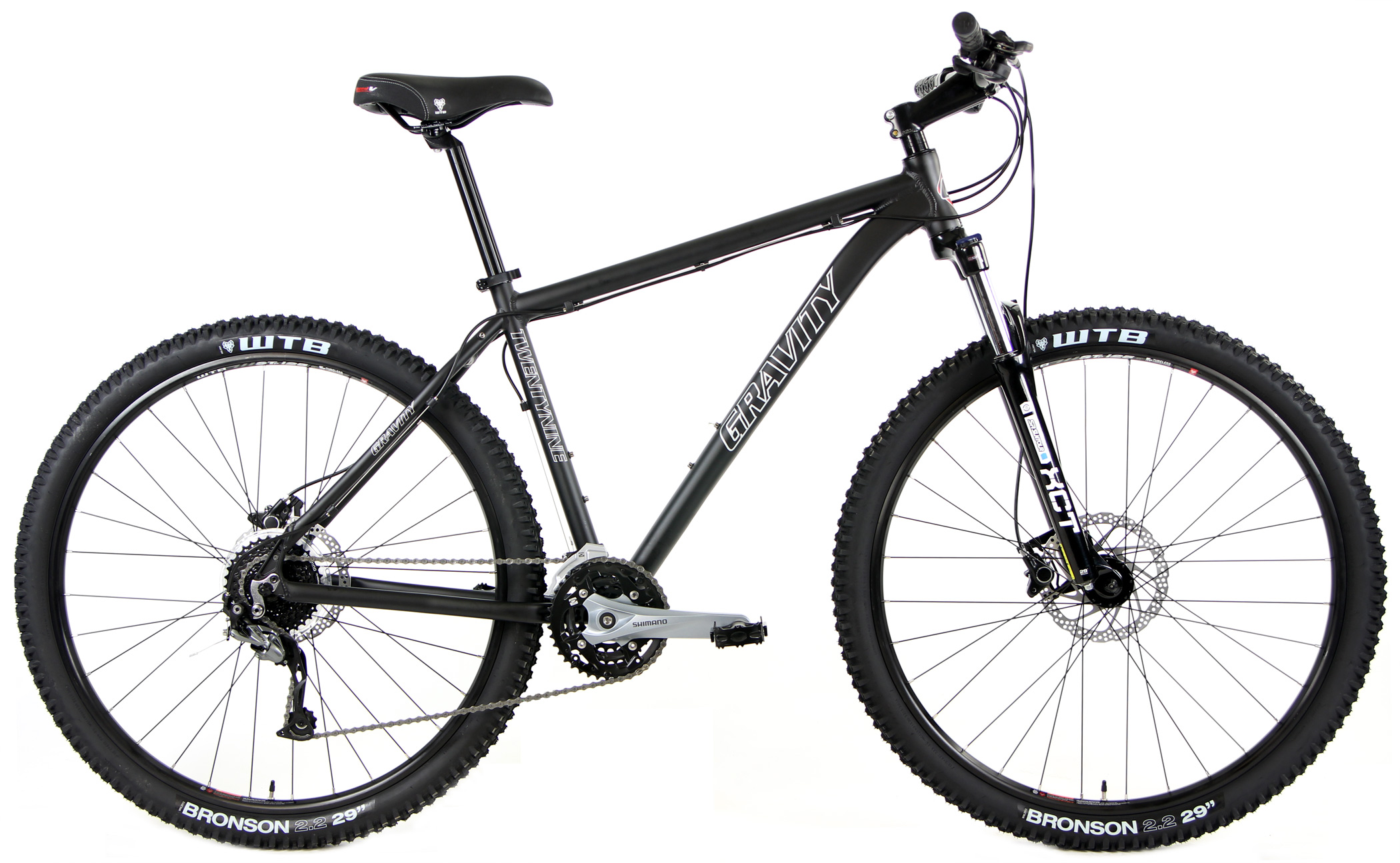 Bikes Gravity Point 2 Hardtail Mountain Bike XCT fork and Shimano Equipped Image