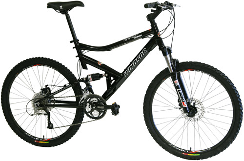 Bikes Windsor Ghost 6900 Dual Suspension Mountain Bike Image
