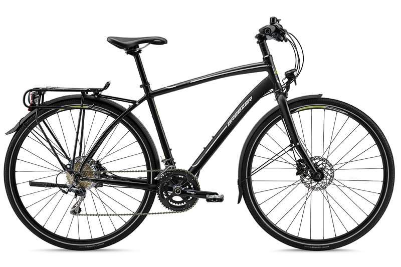 Bikes 2016 Breezer Liberty 1R + Aluminum Flat Bar Commuter Bike Image