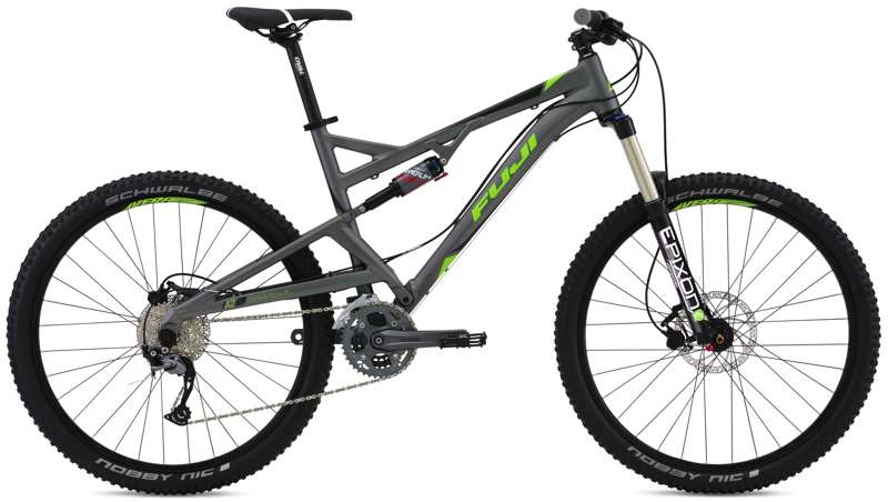 Bikes Fuji Reveal 1.3 Full Suspension Mountain Bike 27.5 inch Wheel Image