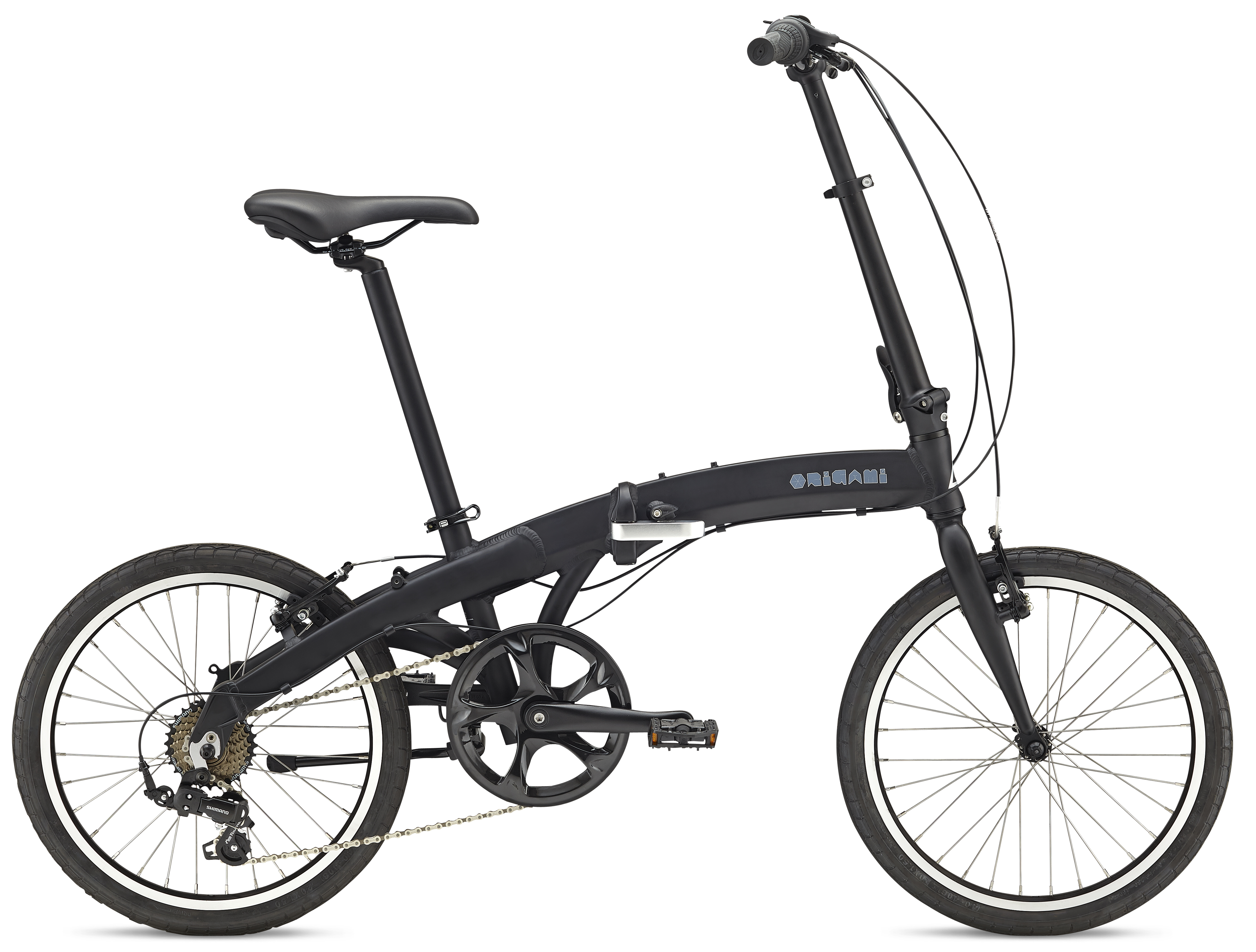 Bikes Fuji Oragami 1.3 Folding City Bike Shimano Equipped Image