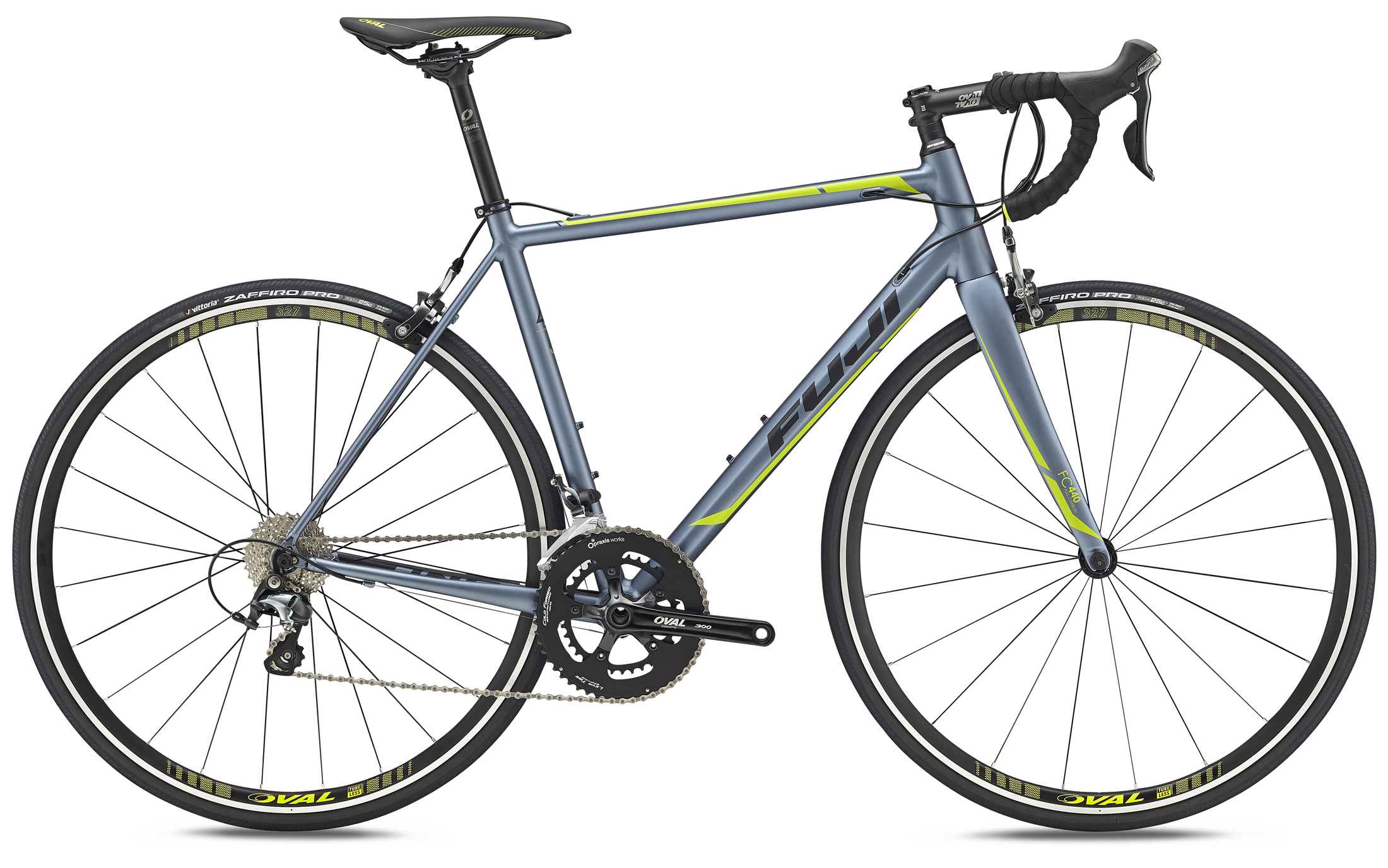 Bikes 2017 Fuji Roubaix 1.5 Tiagra Equipped Aluminum Road Bike Image