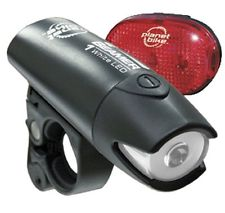 Accessories Planet Bike Beamer 1 Lightset with Batteries Image