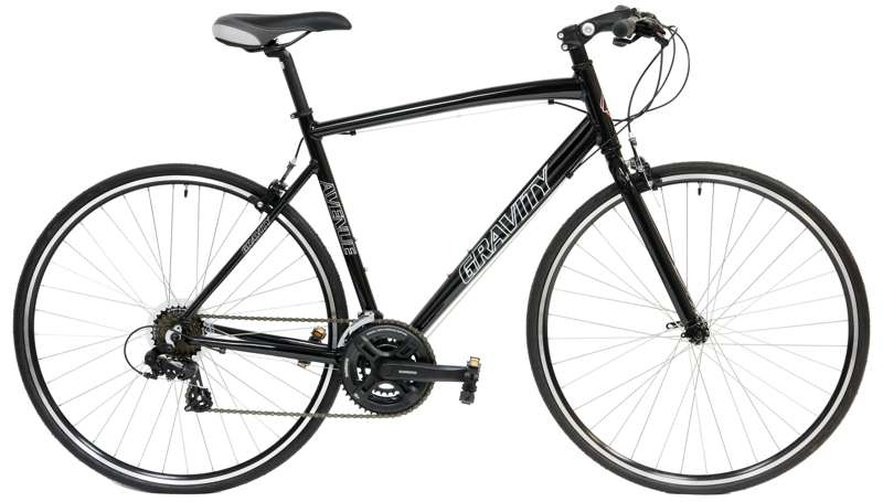 Bikes Gravity Ave FX Shimano 21 Spd Flat Bar Road Bike Image