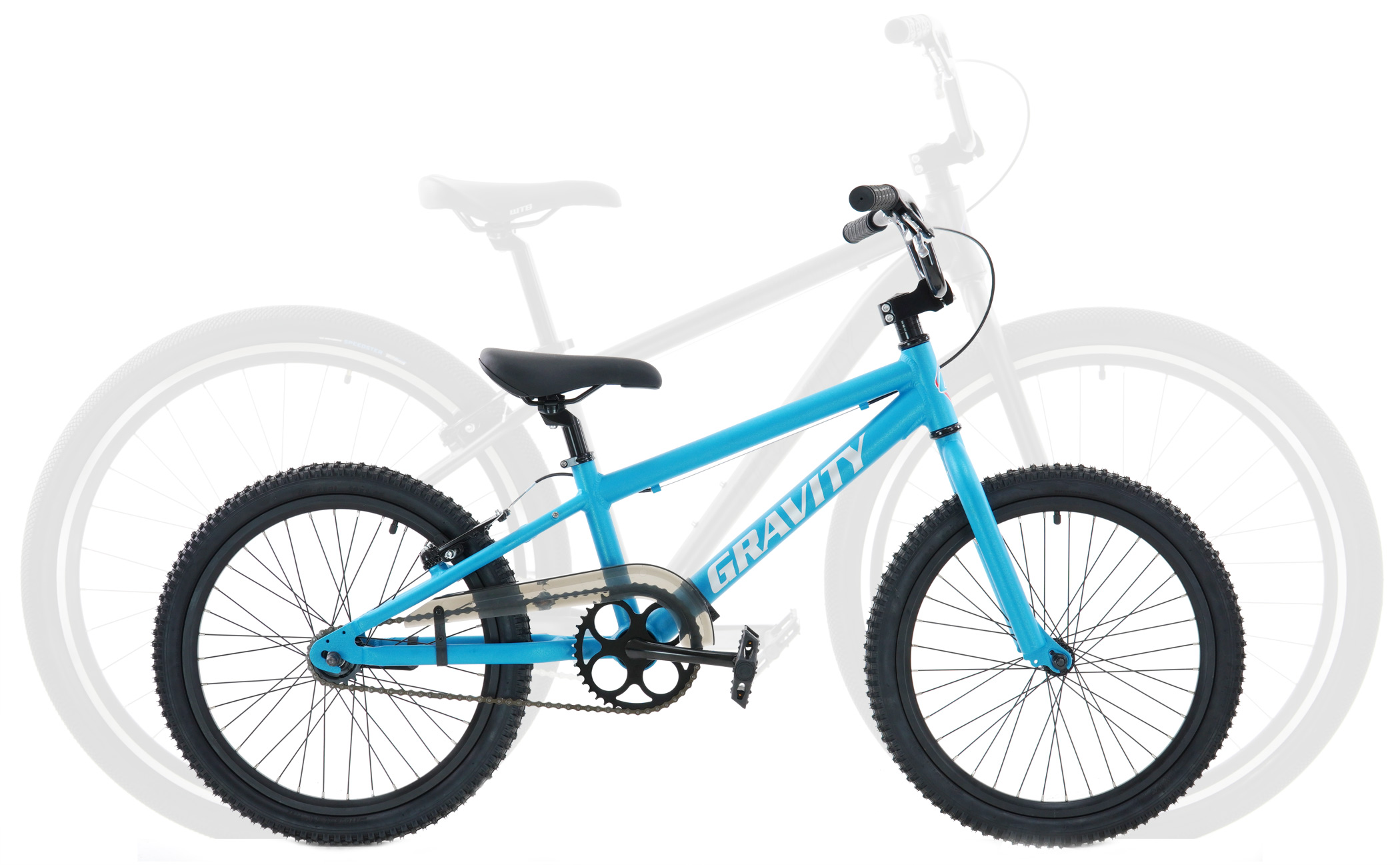 Bikes Gravity Superfast Aluminum BMX with Coaster Brake PLUS Powerful Rear V Brake Bikes Image