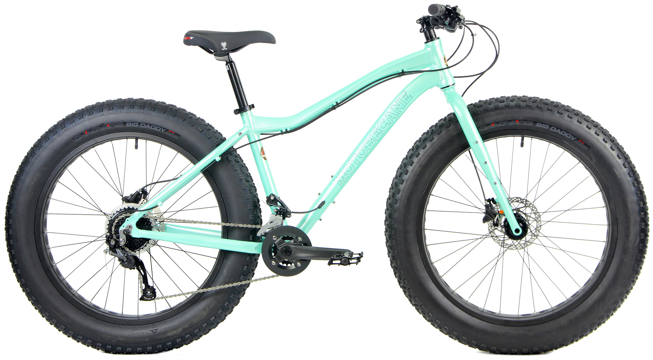 Bikes Motobecane Boris LTD Shimano Alivio/ALTUS 2X9 Spd HYDRAULIC Disc Brake Fat Bike Image