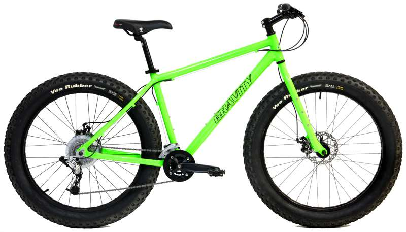 Bikes Gravity Bullseye Monster Fat Bike Shimano SRAM X4 Disc Brakes  Image