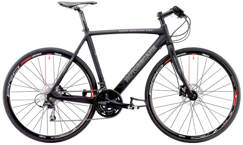 Bikes Motobecane Cafe Century Pro DX Flat Bar Carbon Road Bike Image
