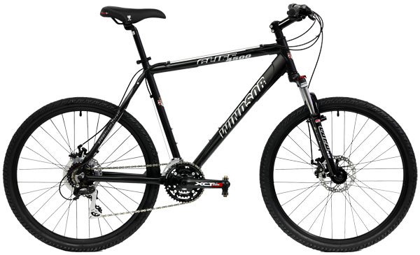 Bikes Windsor Cliff 4500 Shimano Alivio 24 Speed Front Suspension Image
