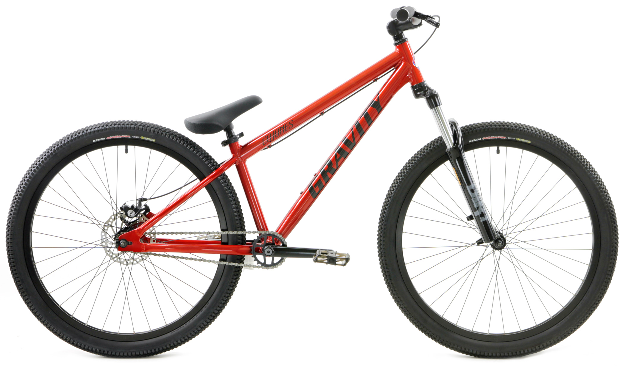Bikes Gravity Cojones Expert Dirt Jumper with Disc Brake Bike Image