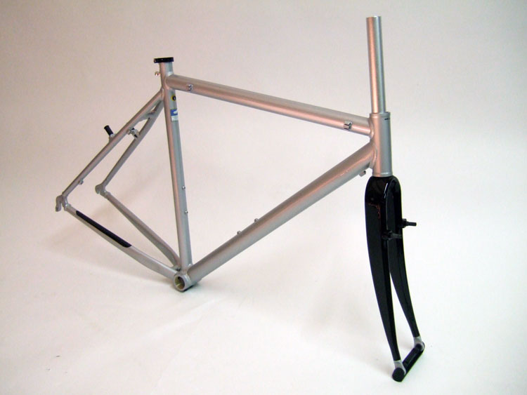 Parts CX-200 Unbranded Cyclocross Frame and Carbon Fork Image
