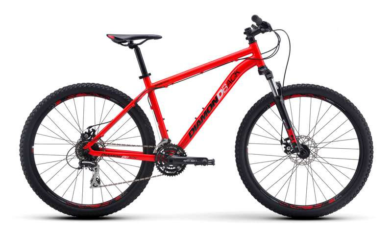 Bikes Diamondback Overdrive 27.5 Wheel 24 Shimano Disc Brake Mountain Bike Image