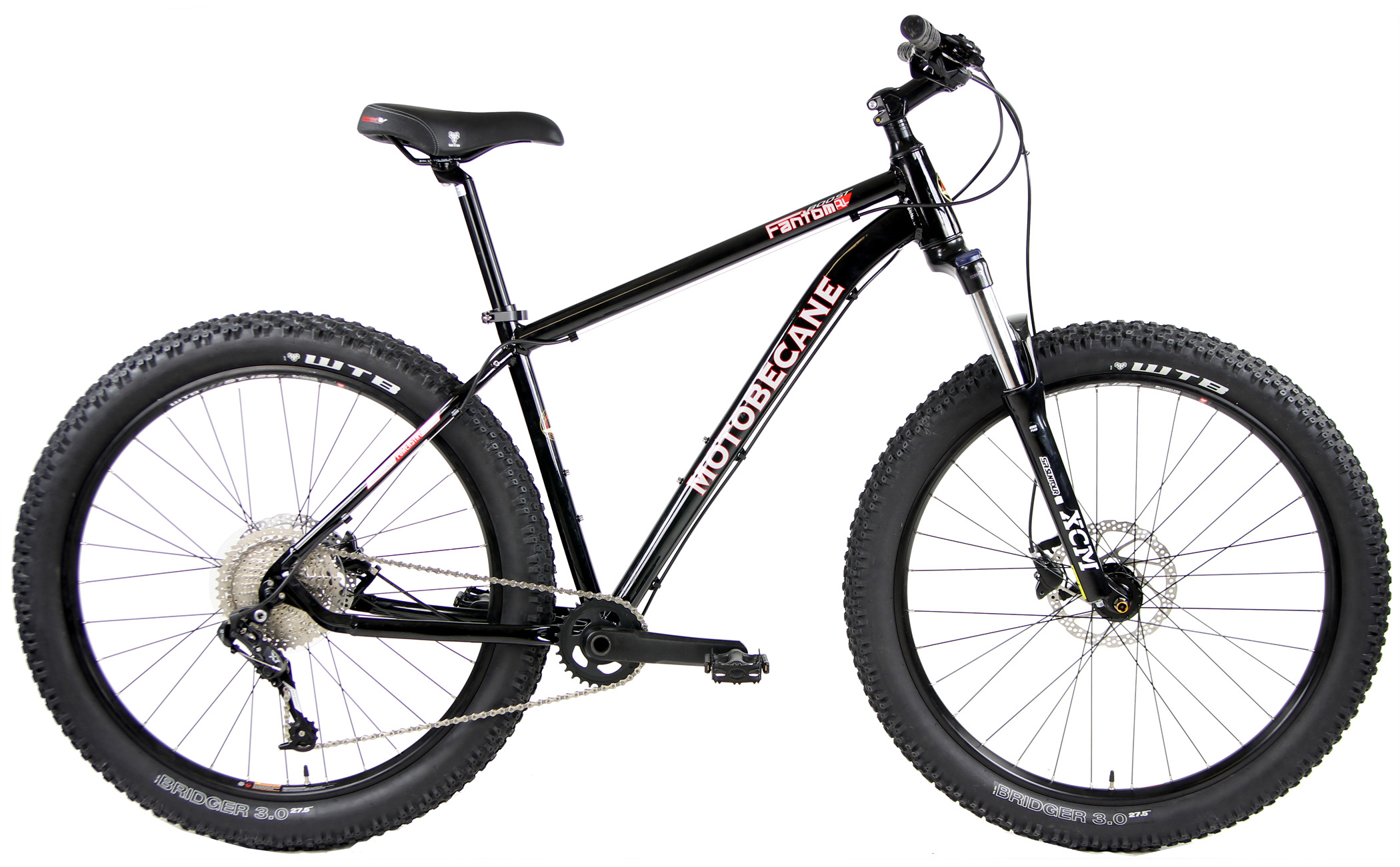 Bikes Motobecane Fantom Boost Trail Front Suspension SRAM X7 1x10 Speed, Shimano Hydraulic Disc Brakes Image