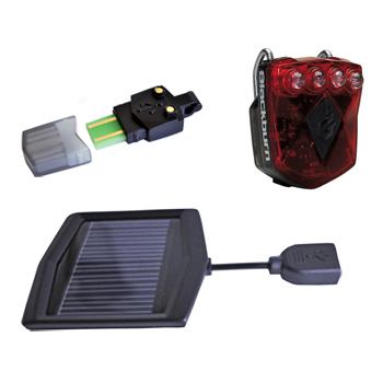 Accessories Flea Solar/ USB 2.0 Rear Light Image