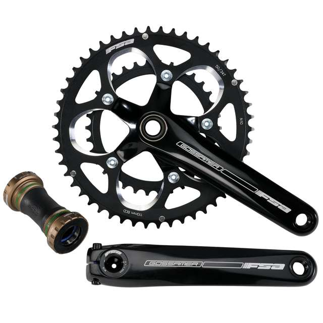 Parts FSA Gossamer Pro BB30 Compact Crankset w/Bottom Bracket Image