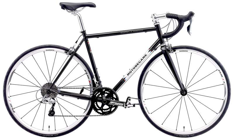 Bikes Motobecane Gran Premio Elite Reynolds 520 Double Butted Steel Shimano 5800 / 105 22 Speed Road Bike Image