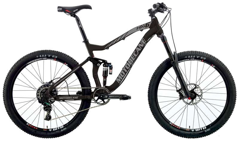 Bikes 2017 Motobecane Hal6 Team Edition 27.5 / 650B Full Suspension Mountain Bike Image