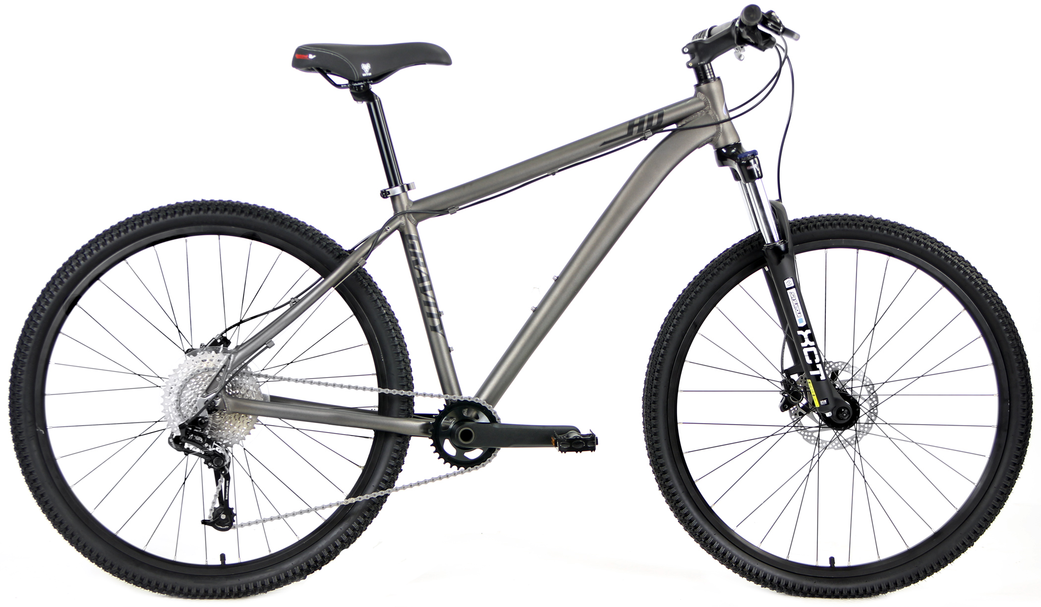 Bikes Gravity HD 27.5 / 29 inch wheels 1x10 Front Suspension Disc Brake Mountain Bikes Image