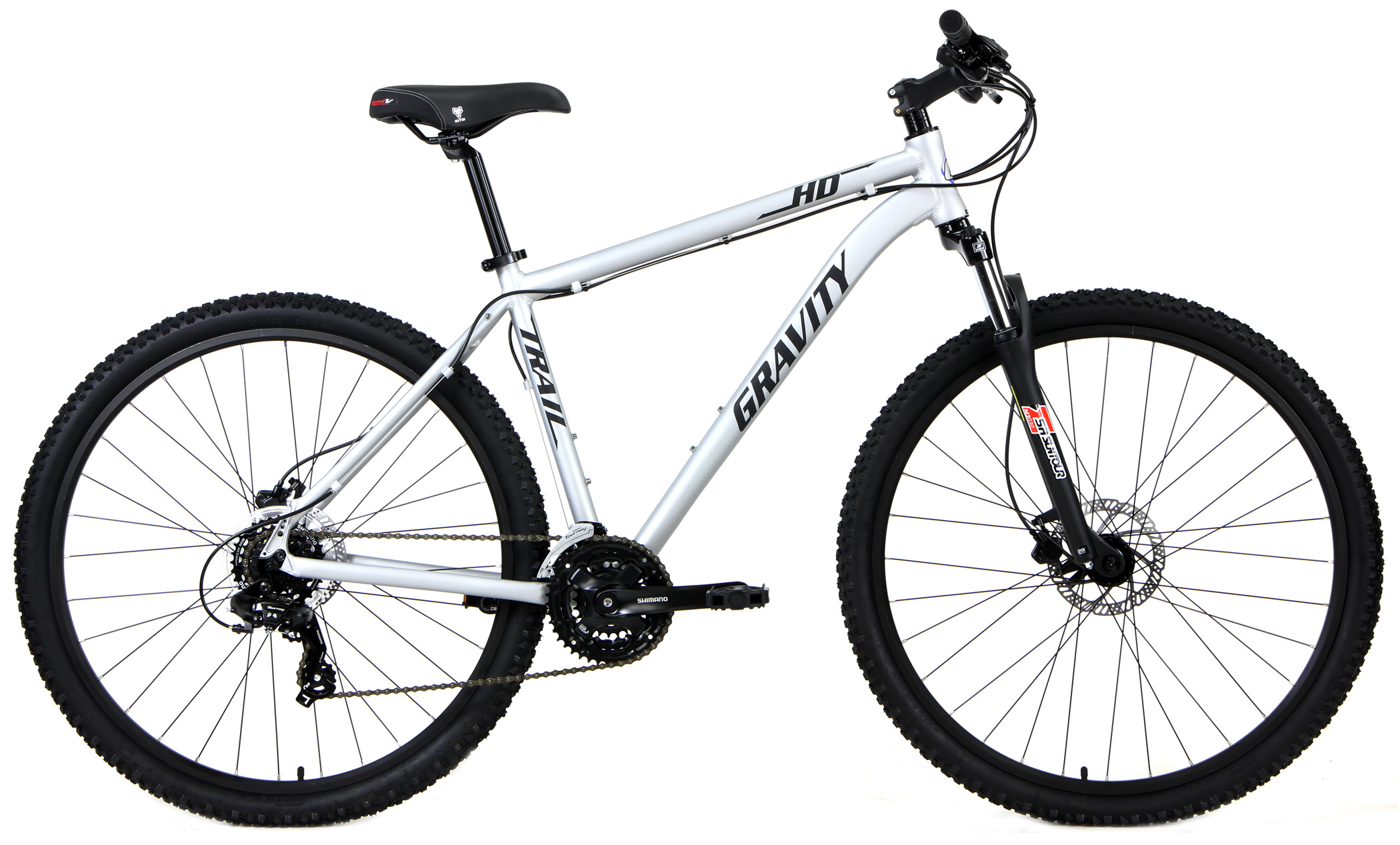 Bikes Gravity HD Trail Long Travel Fork Hydraulic Disc Brakes 27.5 inch Wheels Image