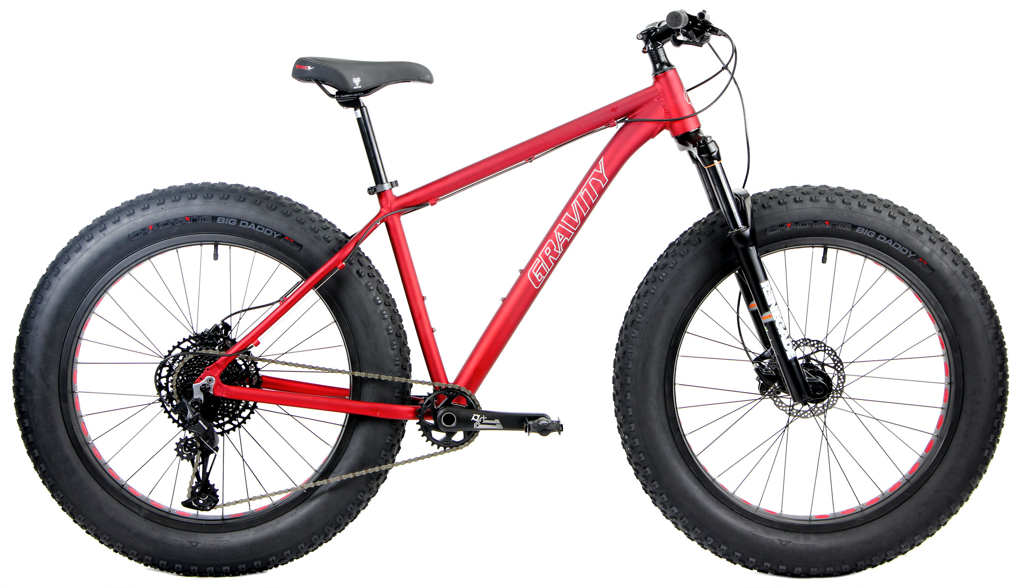 Bikes Gravity Bullseye Monster Five SX FS SRAM EAGLE SX 1X12 Fat Bike Image