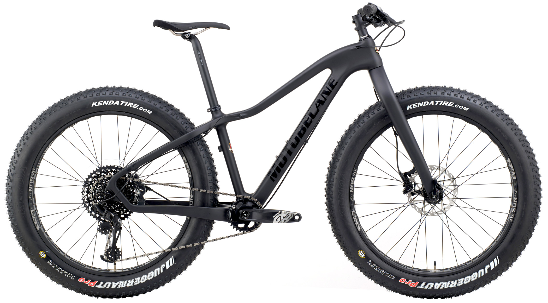 Bikes Motobecane Night Train CF SL EAGLE 1X12 Carbon Fat Bike Image