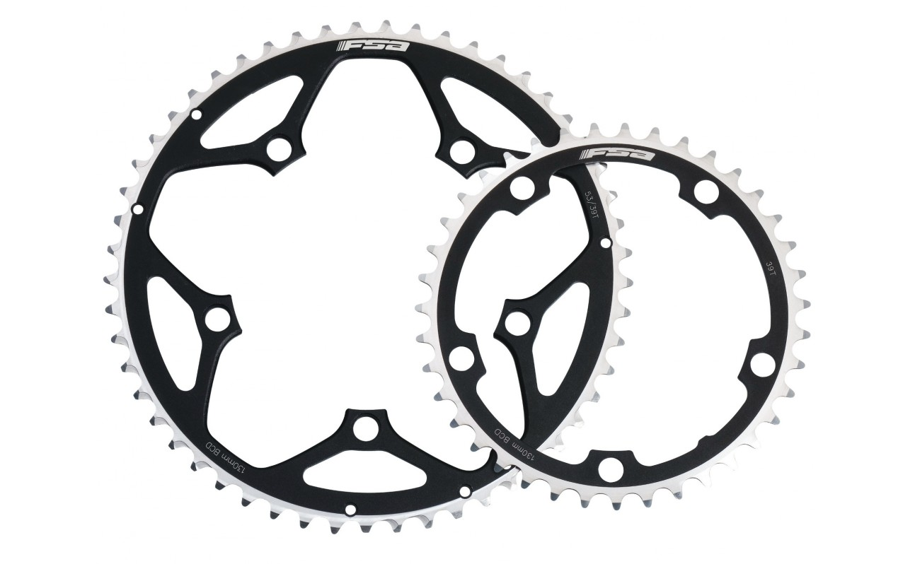 Parts FSA Pro Road 9/10s 110mm Black Chainring Image