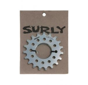 Parts SURLY - Thread On - CroMolyTrack Cog 1/8'' Silver Image