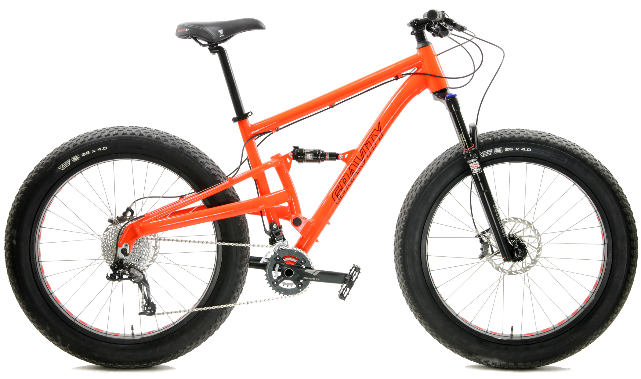 Bikes Gravity Sniper Sram X9 / X7 20 Speed Dual Suspension Fat Bike Image