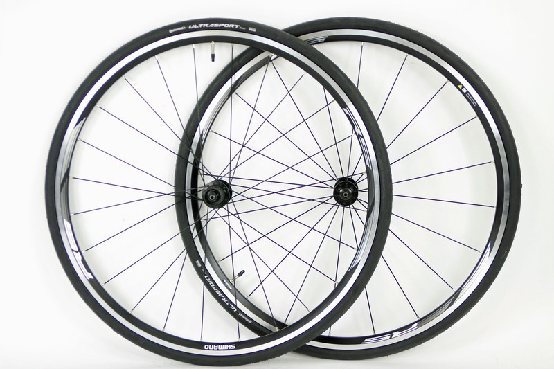 Wheels 700c Shimano RS010 Road Wheels With Tires Image