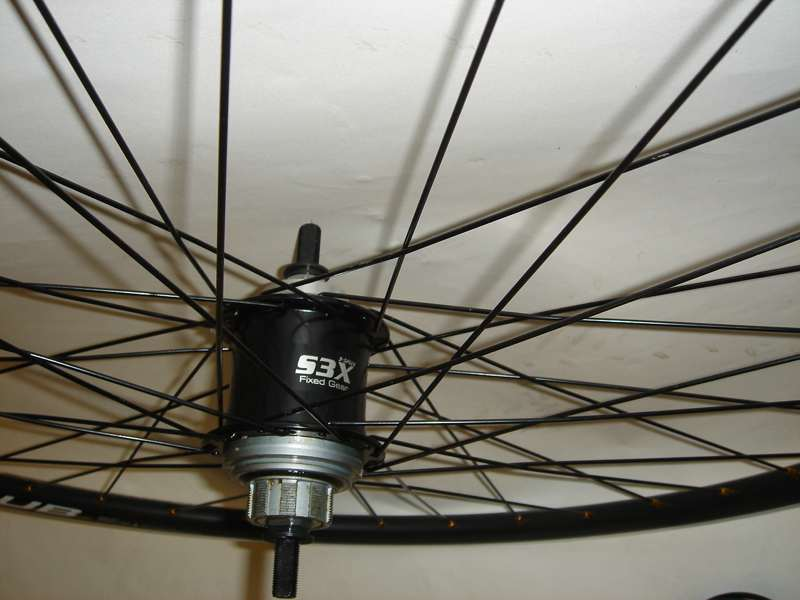 Wheels S3X Fixed Gear Internal 3 Speed Wheelset Image