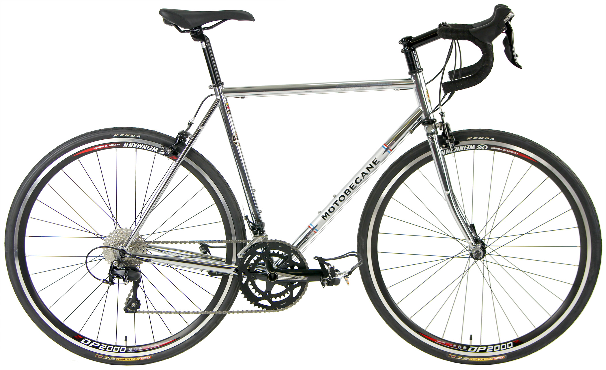 Bikes Motobecane Strada LTD 2.0 Reynolds Chromoly Steel Road Bike Shimano 105 Image