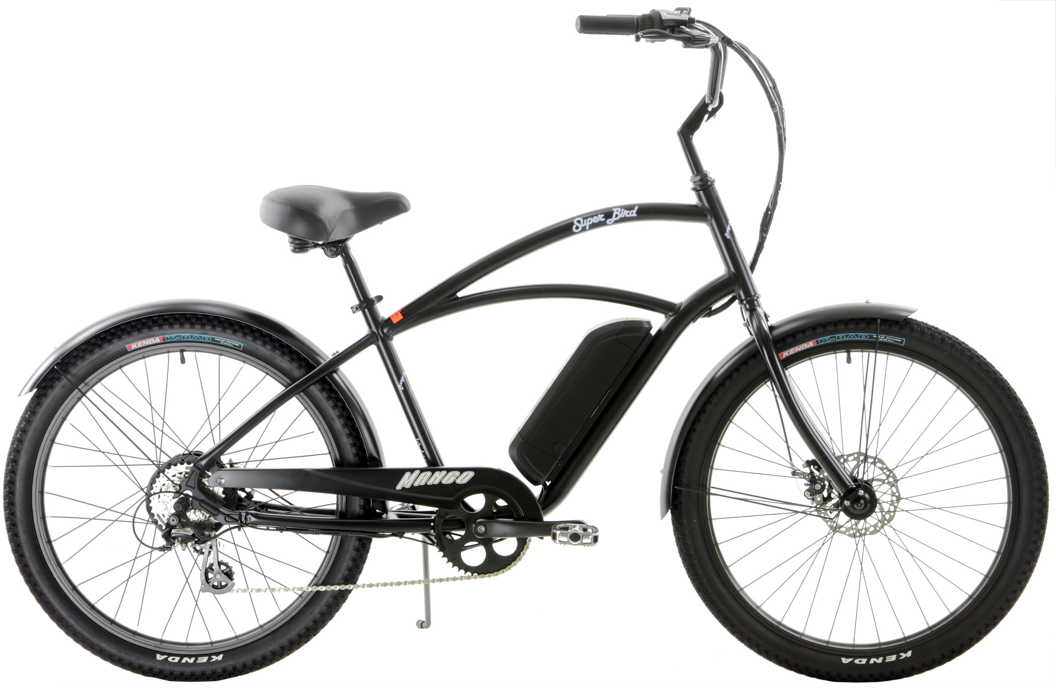 Bikes Mango Superbird Electric Bike Cruiser Disc Brake 250 Watt eBike Image
