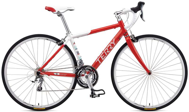 Bikes Terry Symmetry Drop Shimano Tiagra 27 speed Women's Specific Road Bike Image