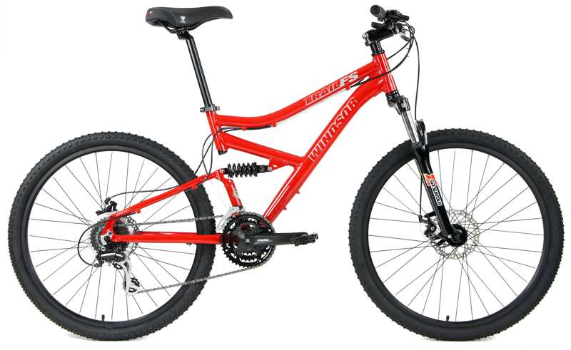 Bikes Windsor Trail FS Shimano 24Spd Full Suspension Mountain Bike Image