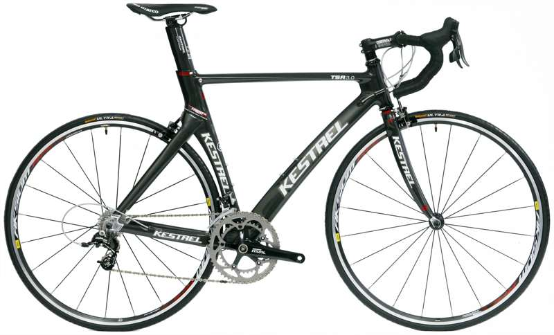 Bikes 2010 Kestrel TSR3 SL Road + SRAM Rival 20 Speed Road Bike Image